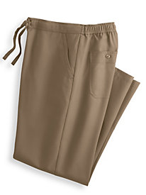 John Blair� Linen-Look Drawstring Slacks