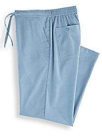Linen-Look Pants