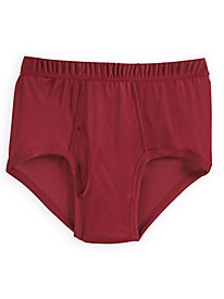 Men's Mid-Rise Brief in Washable Silk