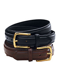 Set of 2 Leather Belts