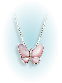 Mother of Pearl Butterfly Pin/Pendant