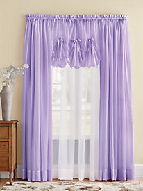 Emelia Voile Sheer Curtains