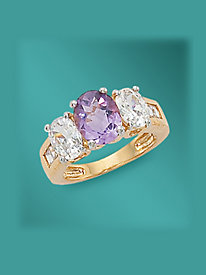 Amethyst Ring by Blair