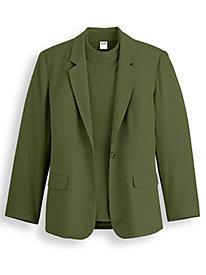 Elisabeth Williams® Fully Lined Blazer