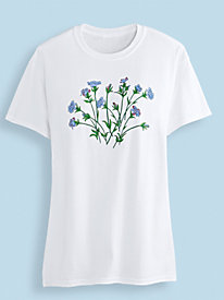 Screen Print Knit Tee