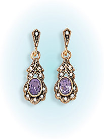Birthstone Heirloom Earrings