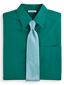 Irvine Park® Short Sleeve Broadcloth Dress Shirt