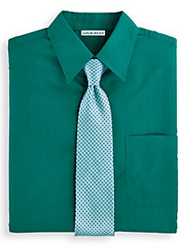 Irvine Park® Long Sleeve Broadcloth Dress Shirt