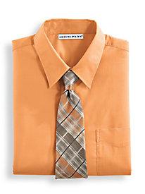 Irvine Park� Long Sleeve Broadcloth Dress Shirt