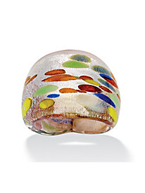 Kaleidoscope Glass Ring by Blair