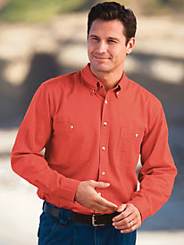 Scandia Woods Long Sleeve Denim and Twill Shirts