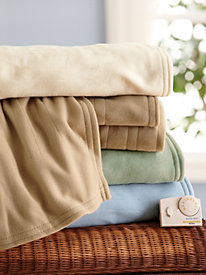 Comfort Knit Analog Warming Blanket