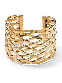 Lattuce Design Cuff Bracelet