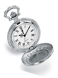 John F Kennedy Silver Dollar Pocket Watch