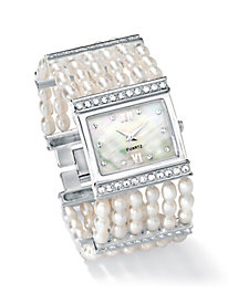Cultured Freshwater Pearl Watch by Blair