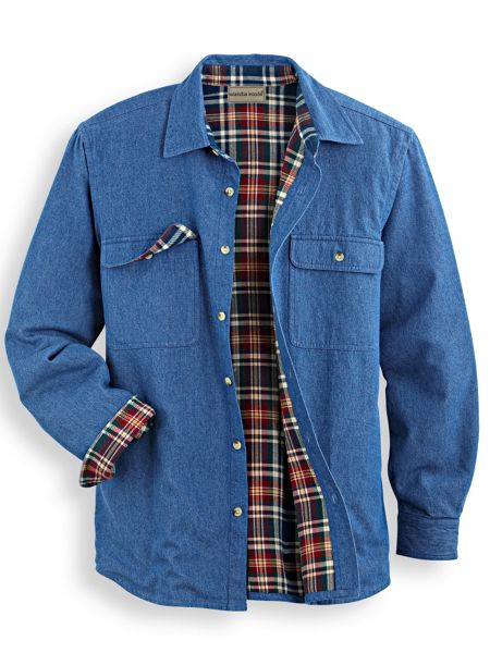 6221f57d1d0 Scandia Woods Flannel-Lined Shirt