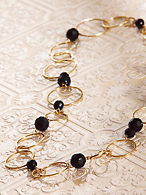 Gold & Bead Necklace
