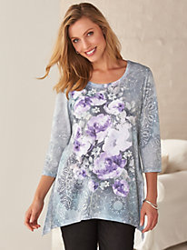 Two Twenty; Print Trapeze Tunic
