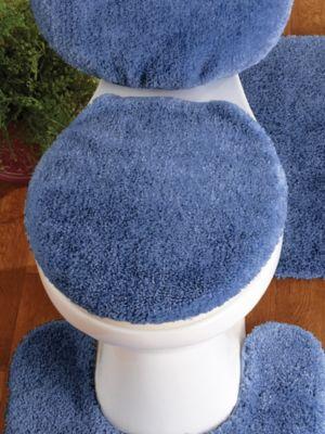 Toilet Seat Lid Covers Sherpa Toilet Seat Lid Cover by OakRidge