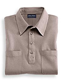John Blair� Short Sleeve Banded Bottom Shirt
