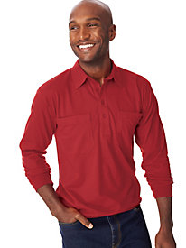 John Blair® Long Sleeve Banded Bottom Shirt