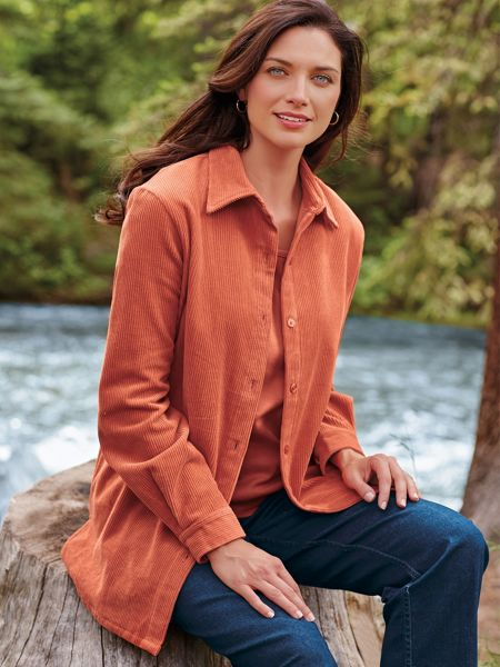 3081eb47699 Women s Corduroy Big Shirt