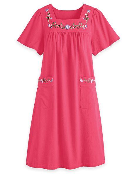 Cotton Patio Dress | Blair