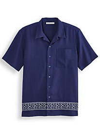 Irvine Park Embroidered Camp Shirt