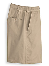 John Blair Side-Elastic Poplin Shorts