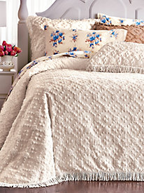 Charleston Chenille Bedspread and Sham