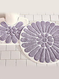Bursting Flower Bath Mat