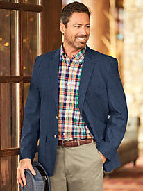 Scandia Woods� Denim Sportcoat