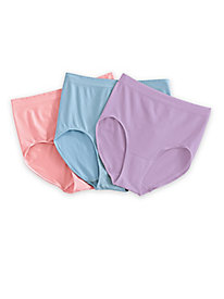 3-Pack ComfortEase DynaShape Seamless Panties