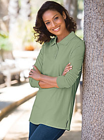 Tunic Polo Top