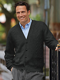 John Blair Cable Cardigan