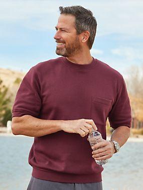 Men's Short Sleeve Sweatshirt | Blair