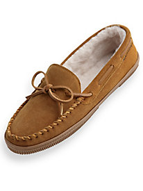 Sunset Suede Moccasin Slippers by Blair
