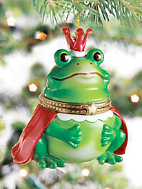 Frog Surprise Ornament