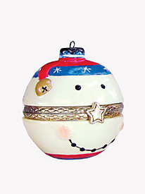 Snowman Surprise Ornament