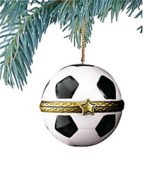 Soccer Surprise Ornament