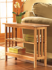 Slim Bookcase Table (24-in. high)