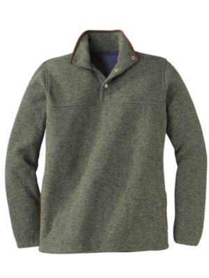 Men's Sweater Fleece Pullover | Sahalie