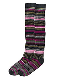 Women's Soft Stripes Knee Socks