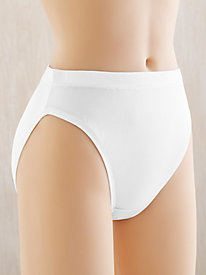 Washable Filament Silk French Cut Brief