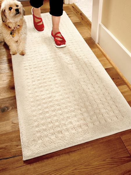 Vista Indoor Nonslip Rug 2x5 Ft Washable Cotton Solutions