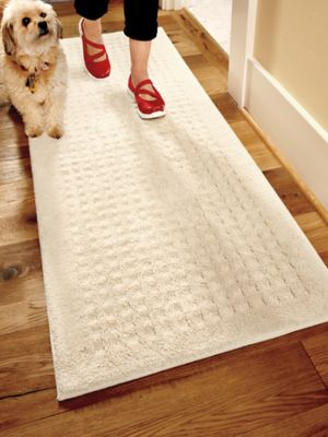 Vista Indoor Nonslip Rug 2x5 Ft Washable Cotton Solutions