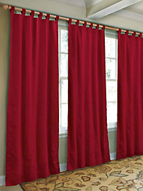 15-in.L Insulated Tab Valance (one 40-in.W panel)