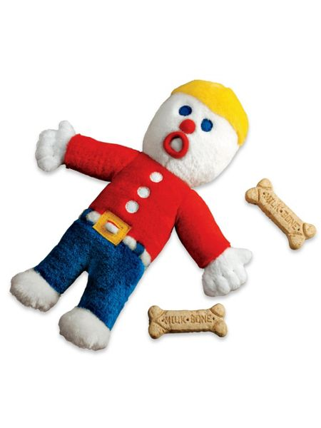 Mr. Bill Dog Toy - Squeaky Dog Chew Toy | Solutions