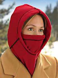 6-in-1 Fleece Hood