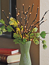 20-in. Lighted Willow Branch
